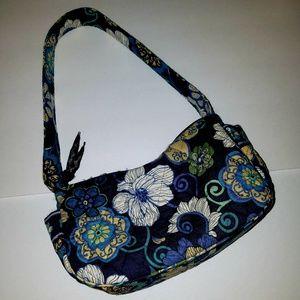 Vera Bradley mod floral blue excellent like new